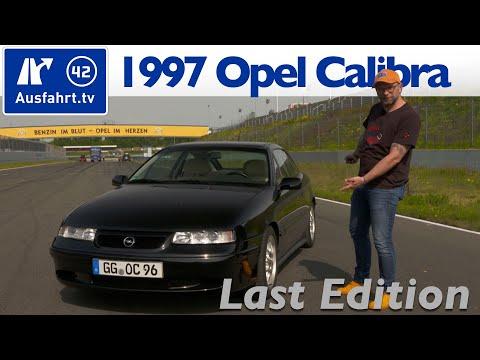 1997 Opel Calibra 2.0 I 16V Last Edition - Kaufberatung, Test Deutsch, Fahrbericht Ausfahrt.tv