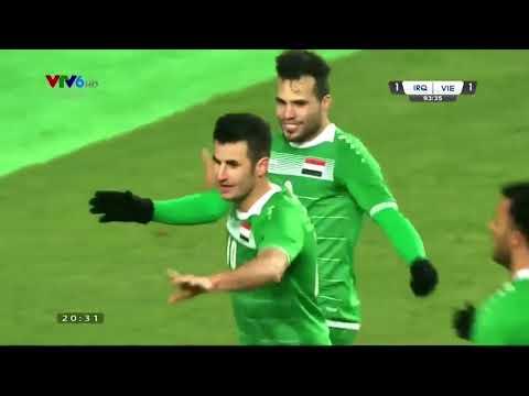 U23 Việt Nam 3-3 U23 Iraq, tứ kết U23 châu Á 2018