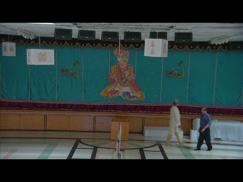 Sunday Sabha Swaminarayan Temple, Wheeling, IL 06/18/2017