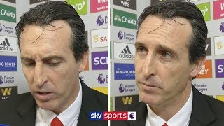 Unai Emery calls for patience from Arsenal fans after 2-0 defeat to Leicester | Post Match