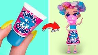 Nunca Eres Grande Para Las Muñecas / 5 Atuendos Dulces Para Barbie