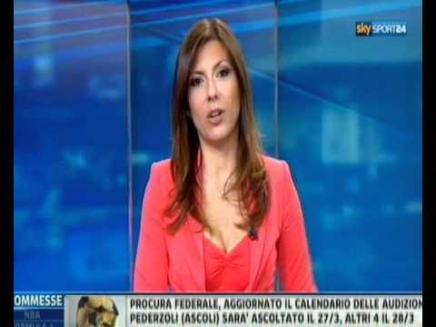 Sara Benci Sky Sport 24 Sera 22 Marzo 2012