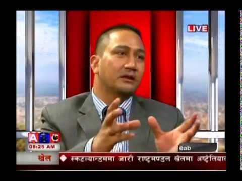 Job Opportunities in Nepal- 2014- Santosh Bharati- ABC ROJGAR Talk Show