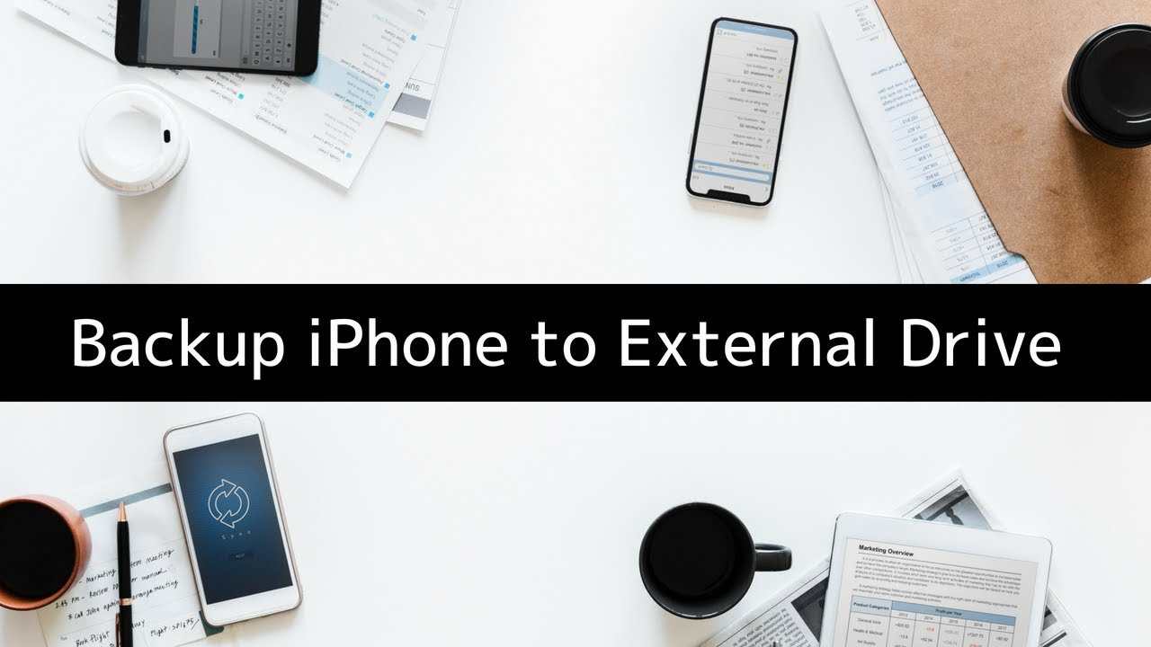 How to Backup your iPhone or iPad to an External Drive or NAS