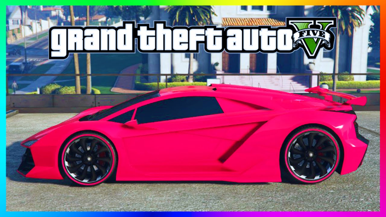 Gta 5 Online Rare Paint Job Guide Electric Indigo American Rose Razer Blue Paintjobs You