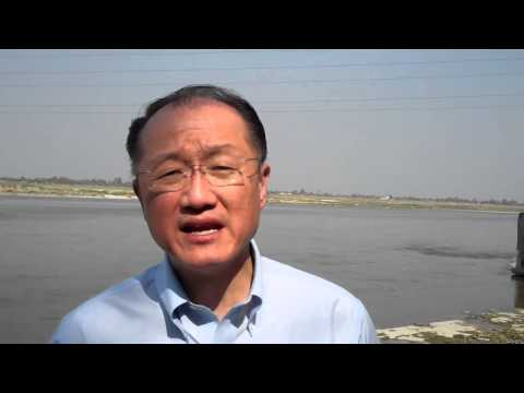 World Bank President Jim Yong Kim: In India, Ganges River Cleanup is Part of Poverty Fight