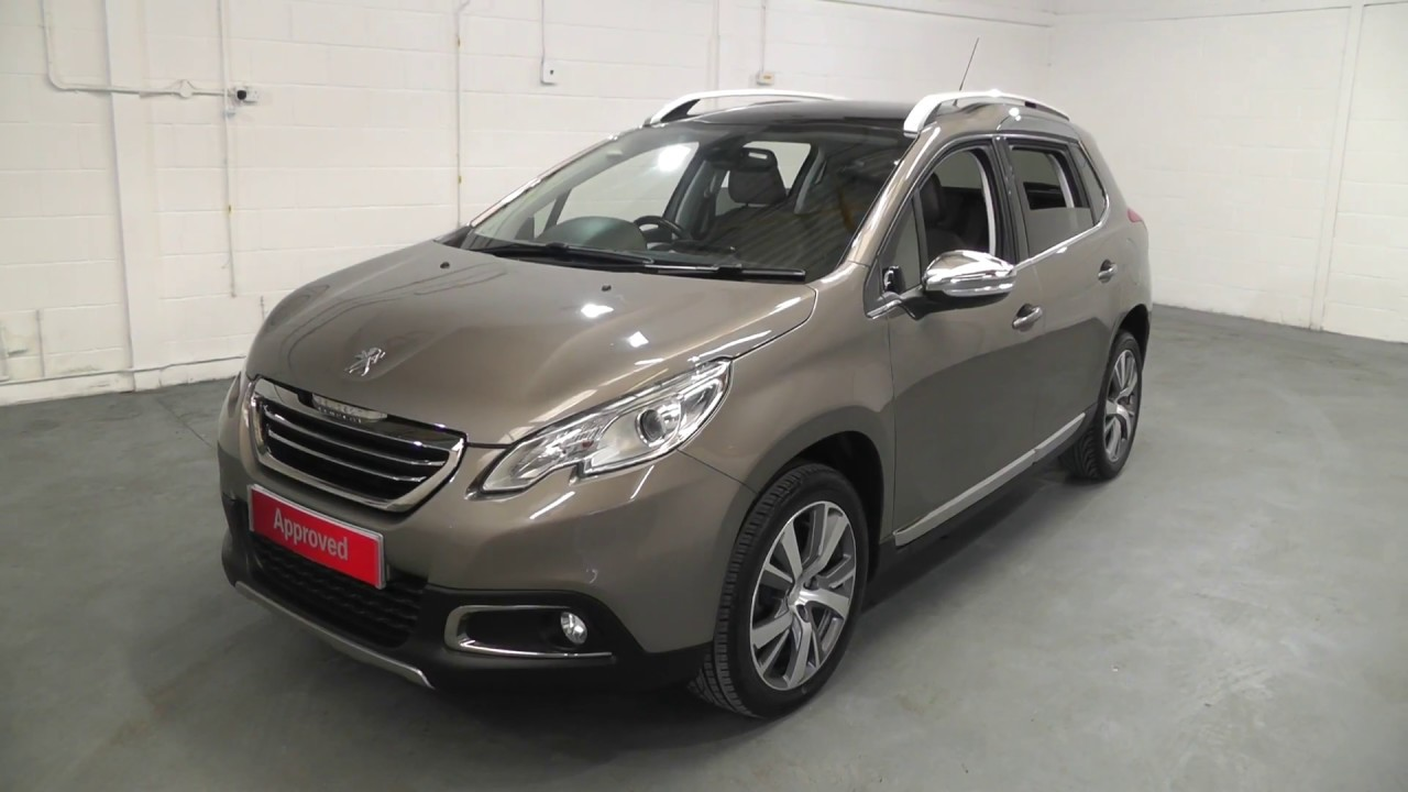 peugeot 2008 1 6 feline calima e hdi finished in spirit grey video walkaround youtube. Black Bedroom Furniture Sets. Home Design Ideas