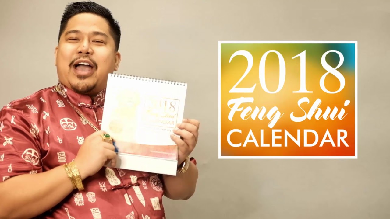 Enhance your love luck feng shui calendar 2018 youtube - Lucky color of the year 2019 ...