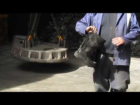 Rock Fall Vulcan Foundry Safety Boots | CMF | William Lee | Real World Toecap Testing