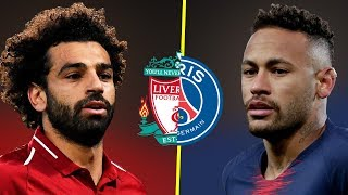 Neymar JR VS Mohamed Salah - Who Is The Best? - Amazing Skills & Goals - 2019