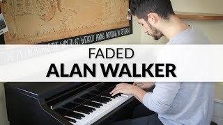 Alan Walker - Faded | Piano Cover + Sheet Music