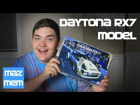 Daytona Rx7 Model - Mazda Memorabilia