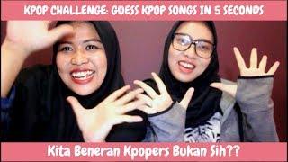 Sok Tau Tapi Salah | KPOP CHALLENGE : Guess Kpop Songs in 5 Seconds