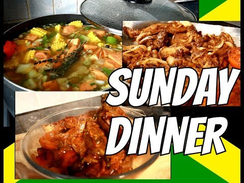 Sunday Dinner Recipe How To Make it Jamaica Chef   | Chef Ricardo Cooking
