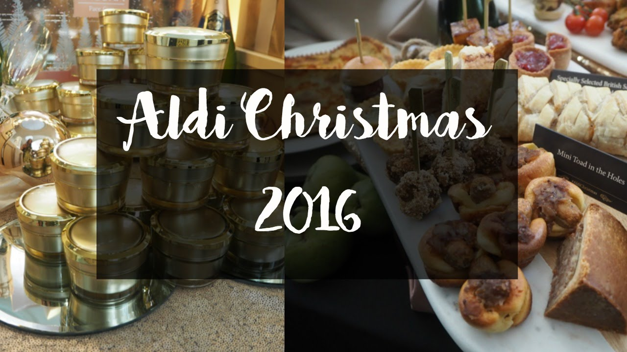 aldi christmas 2016 range aldichristmas youtube. Black Bedroom Furniture Sets. Home Design Ideas