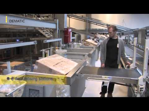 Dansk Supermarked - Two subsidiaries in one warehouse --  a novelty in intralogistics