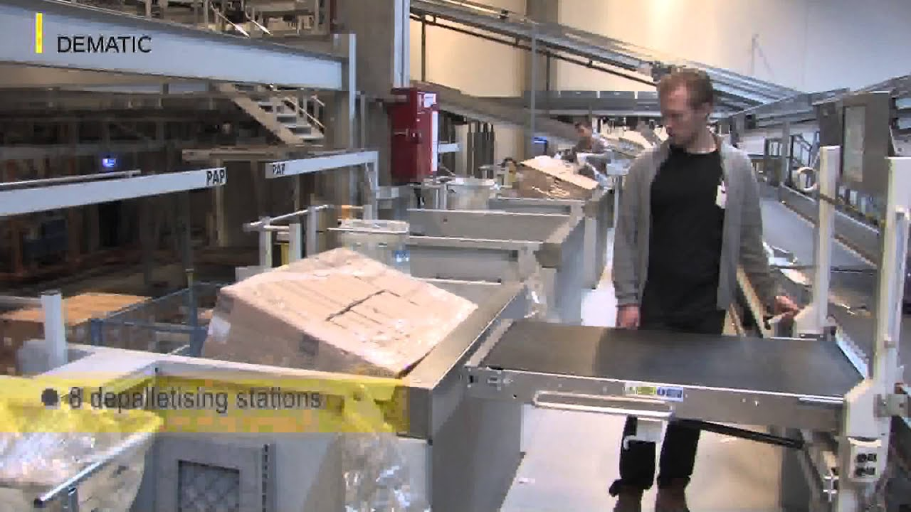 Dansk Supermarked Two Subsidiaries In One Warehouse A Novelty In Intralogistics Youtube