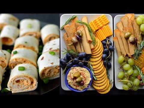 3 Vegan Party Food Ideas (Holiday)