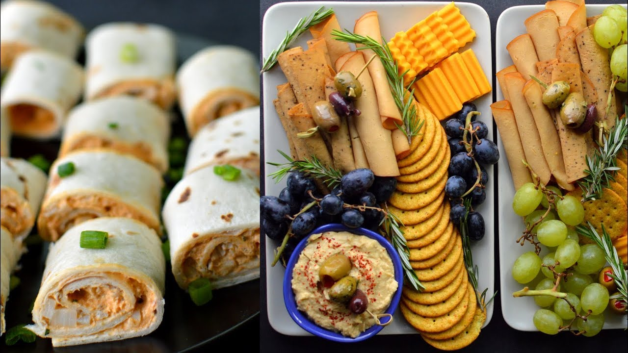 party snack ideas 3 vegan food ideas 13239