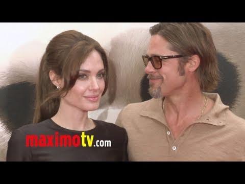 "Angelina Jolie & Brad Pitt So In Love at the ""Kung Fu Panda 2"" Los Angeles Premiere"