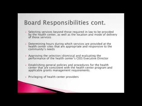 The Duties and Responsibilities of a Board Member