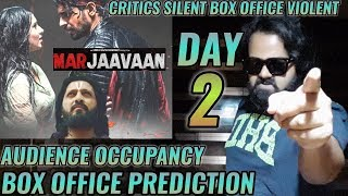 MARJAAVAAN BOX OFFICE COLLECTION DAY 2 | PREDICTION | OCCUPANCY | SIDHARTH MALHOTRA | RITESH | GOOD
