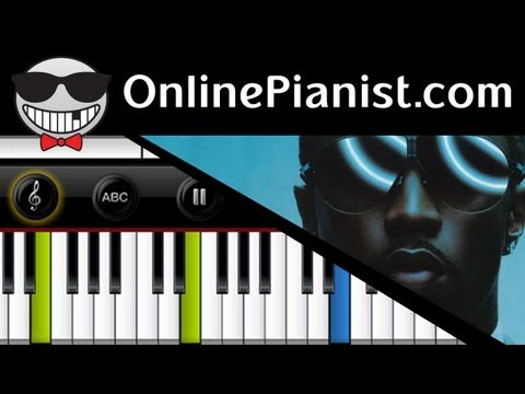 Diddy ft. Skylar Grey - Coming Home - Piano Tutorial