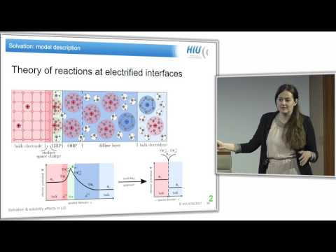 Jessica Lück - Solvation and solubility effects in lithium-sulfur batteries