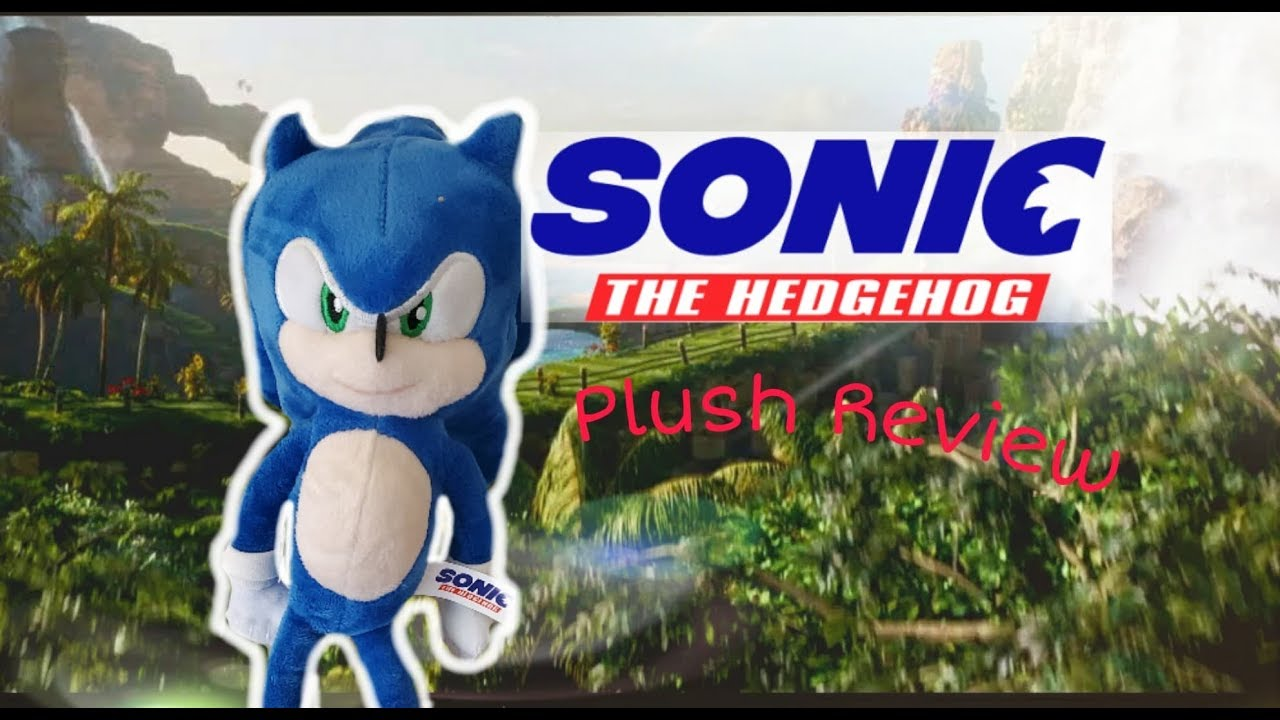 New Sonic The Hedgehog Movie Plush Unboxing Review Toy Factory Youtube