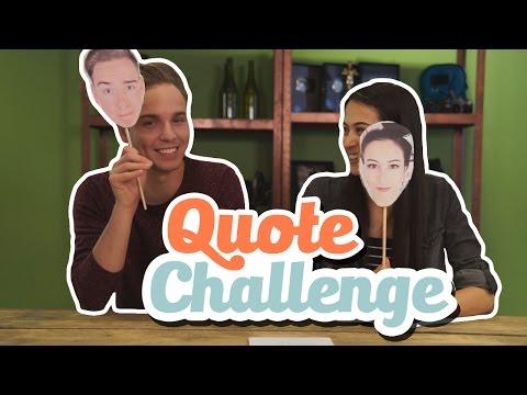 QUOTE CHALLENGE!