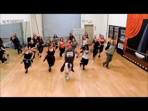 "Dance Craze: The Flirts ""Danger"" choreography by Cesar"