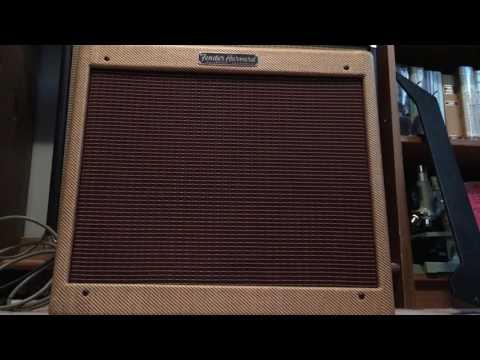 1960 Fender Harvard Tweed Mint Condition
