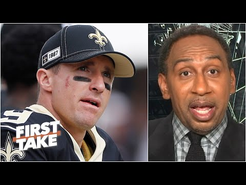 Stephen A. Reacts To Drew Brees' Video Apology After National Anthem Comments | First Take
