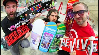 NEW VIDEO GAME SKATEBOARDS /  ReVive Skateboards Summer 2019
