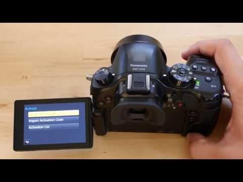 Panasonic LUMIX GH4 VLog L & Firmware 2.4 Update Process