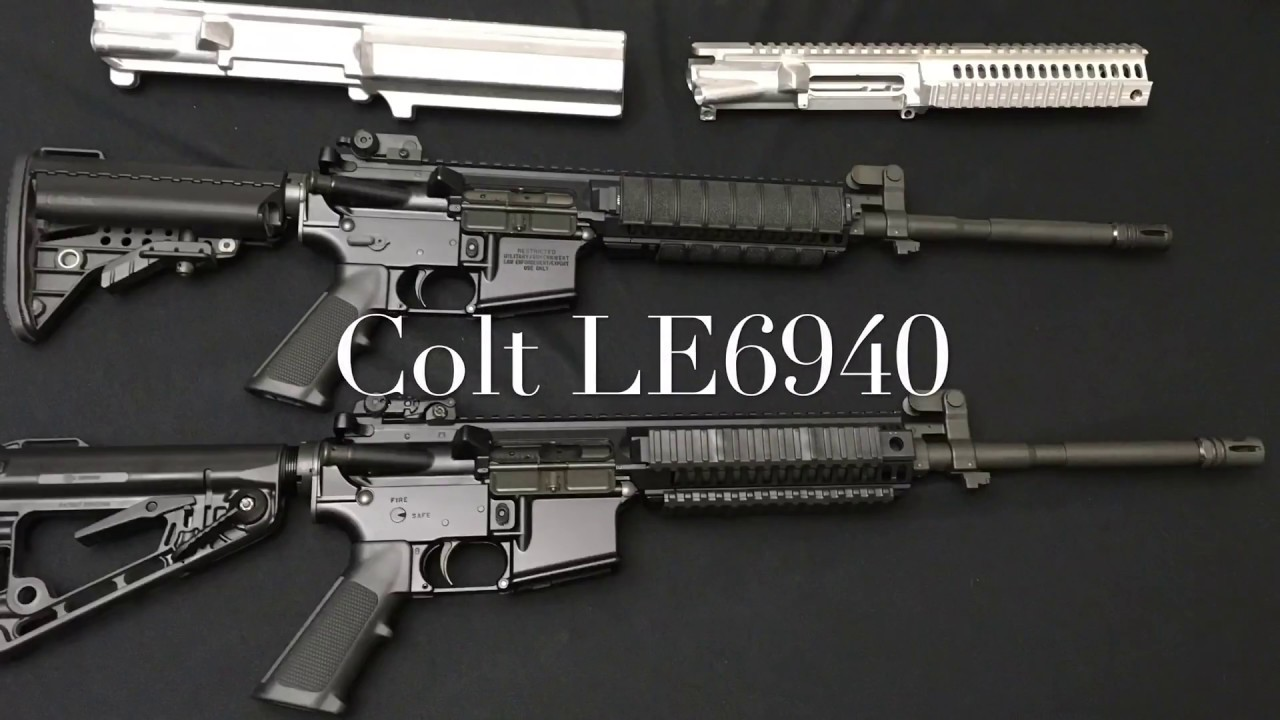 Technical And Historical Look At The Colt Le6940 Youtube