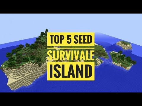 Minecraft PE Seeds - TOP 5 Best SURVIVAL ISLAND Seeds - MCPE 1.2 Better Together