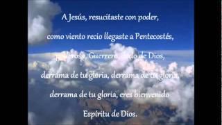 Espiritu Santo Derramate- New Wine letra
