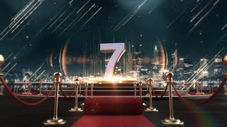After Effects Template: Red Carpet Countdown