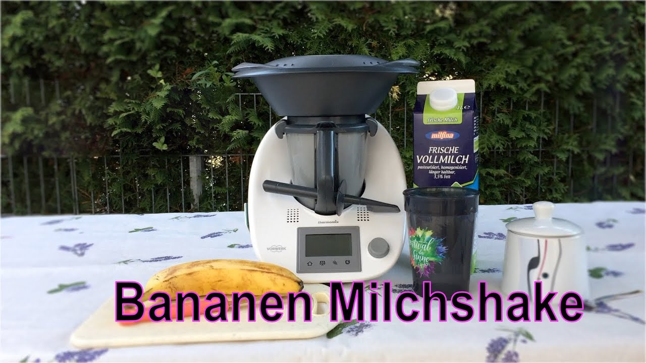 kinder thermomix tm5 for kids bananen milchshake thermomix for kids bimby youtube. Black Bedroom Furniture Sets. Home Design Ideas