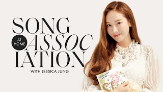 "Jessica Jung Sings Britney Spears, Drake, & ""Love Me the Same"" in a Game of Song Association 