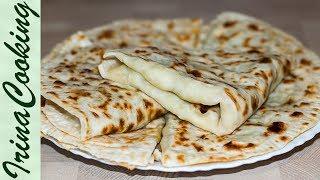 Кутабы и 2 Вкуснейшие Начинки 🌮 Азербайджанские Лепешки с Картофелем и Тыквой ✧ Ирина Кукинг
