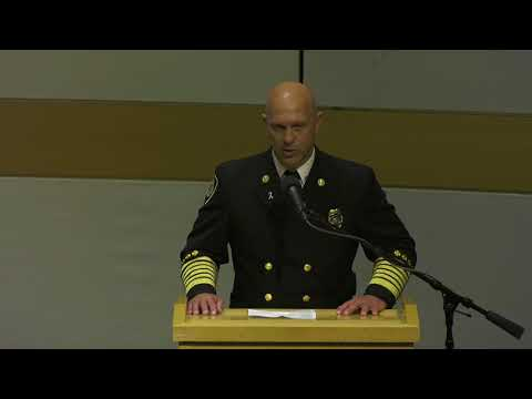 Salt Lake Fire Academy Recruit Graduation - Class 41, October 20,2017
