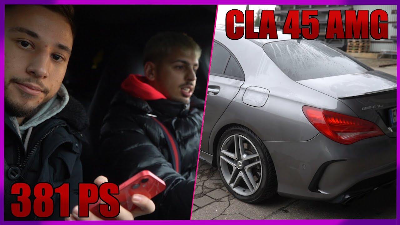 Asirunde mit einem Mercedes-Benz CLA45 AMG.. (381 PS)