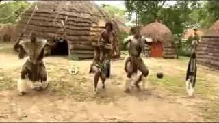 Зулусы свадебный танец