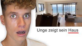 Luca reagiert auf UNGE'S HAUS 😱