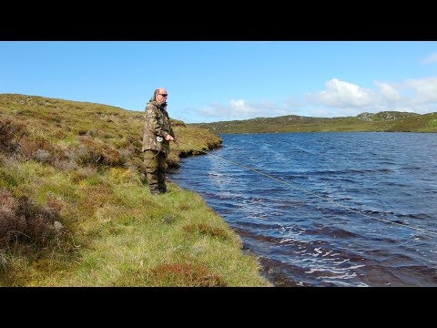 Isle Of Lewis Trout Fishing - Brown Trout Paradise