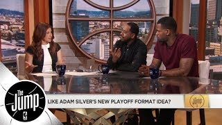 Would new NBA playoff format get two best teams to The Finals?   The Jump   ESPN
