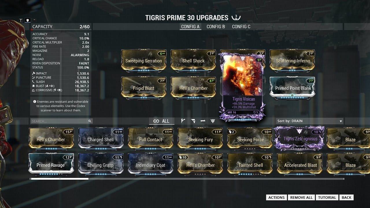 Build Tigris Fr