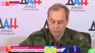War in Ukraine Война в Украине  Новые обстрелы в Донбассе На рубеже атаки Луганск 28 01 2015